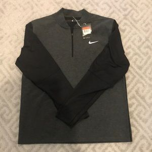 NWT NBW Nike 3/4 zip up